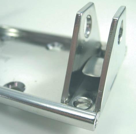 Sicherung für Mastfuß-Verstellung