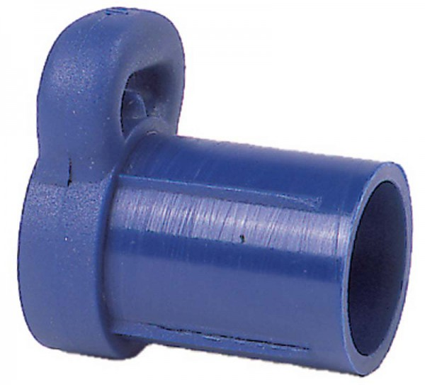 Optiparts Baumendkappe 32 mm Ø blau
