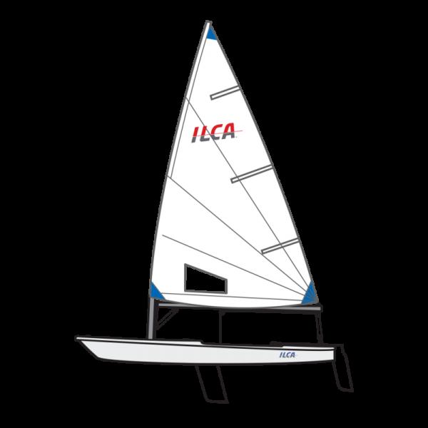 ILCA6 (Laser Radial) XD segelfertig - sailingshop.de