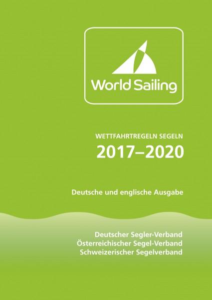 eutsche und englische Ausgabe der Wettfahrtregeln Segeln 2017-2020