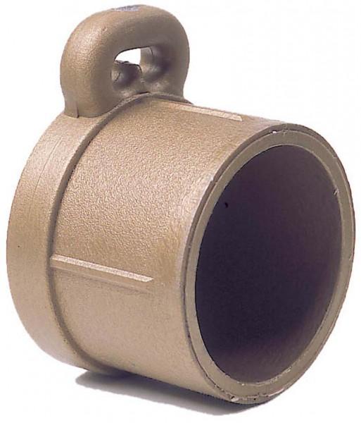 Optiparts Baumendkappe 55 mm Ø gold