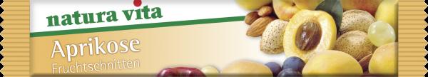 Aprikose-Fruchtschnitte 30g Natura Vita