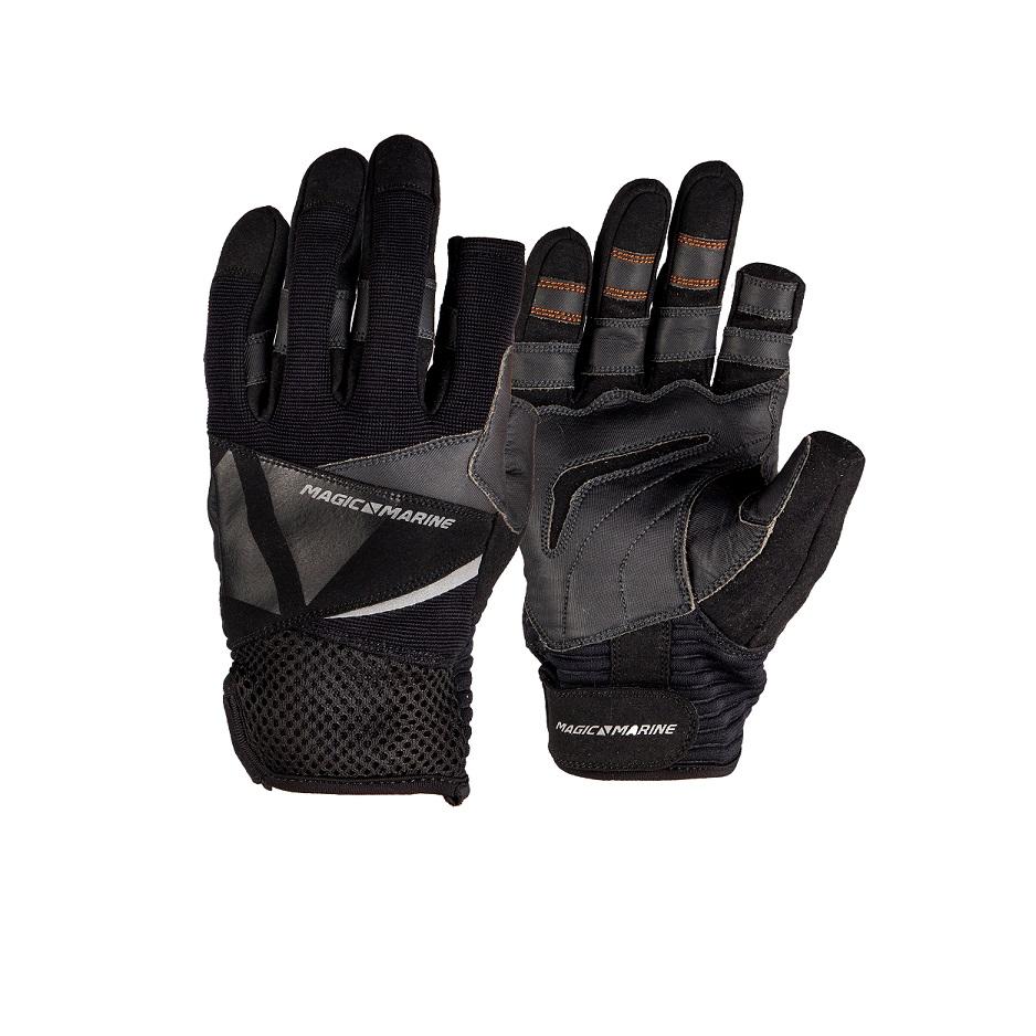 Segelhandschuhe aus Leder Gr L bis XL Handschuhe ohne Finger Rigging Bühnenbau