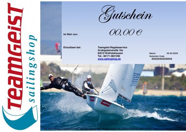 Gutschein (Versand mit DHL) - sailingshop.de