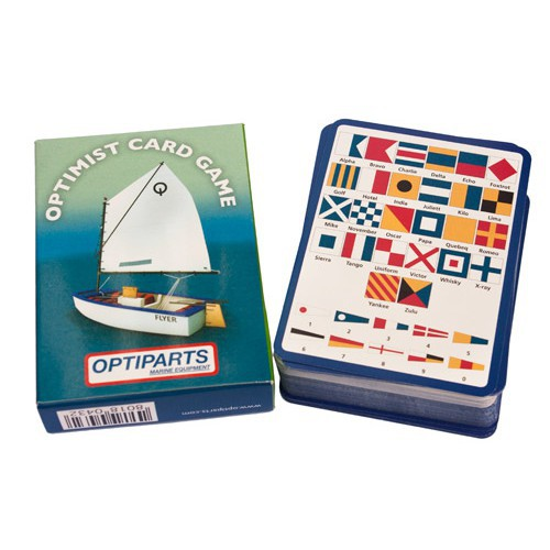 "Optimist Card Game ""Happy Family"" Optiparts"