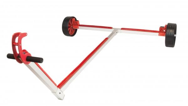 Optiparts Opti Slipwagen mit Vollgummirädern