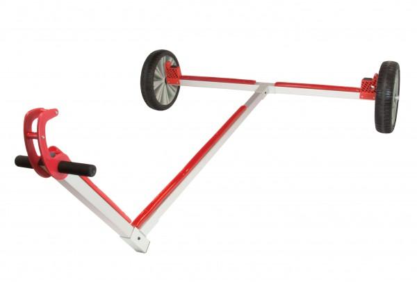 Optiparts Opti Slipwagen mit großen Vollgummirädern